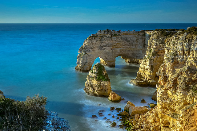 Praia da Marinha from Beaches in the Algarve