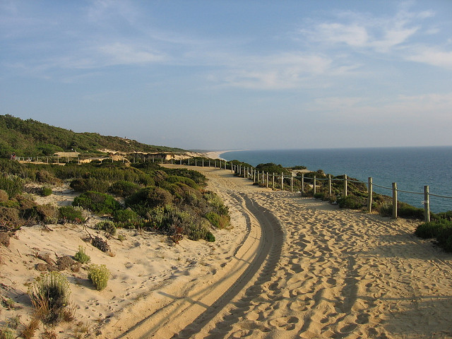 Gale Beach, the Algarve